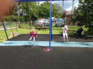 Dual swinging